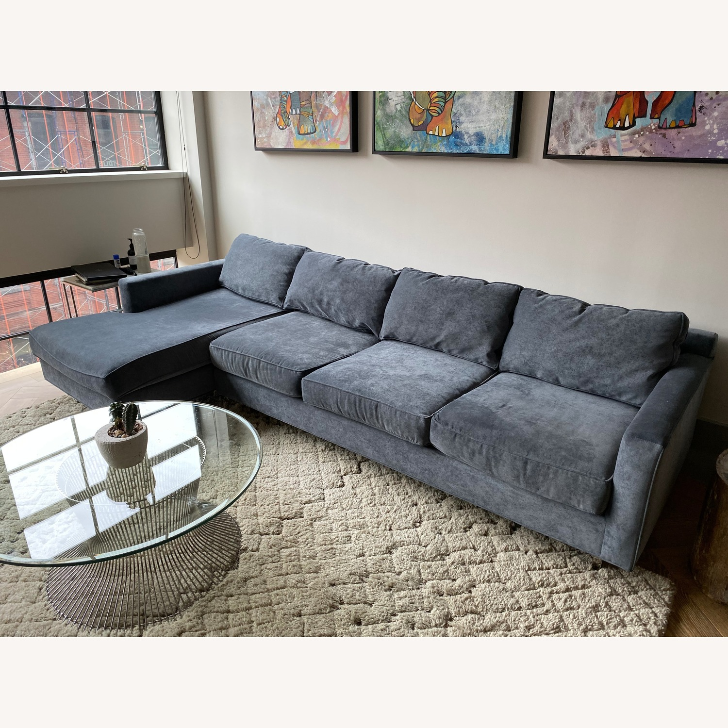 Mitchell Gold + Bob Williams Hunter Sectional Sofa - image-1