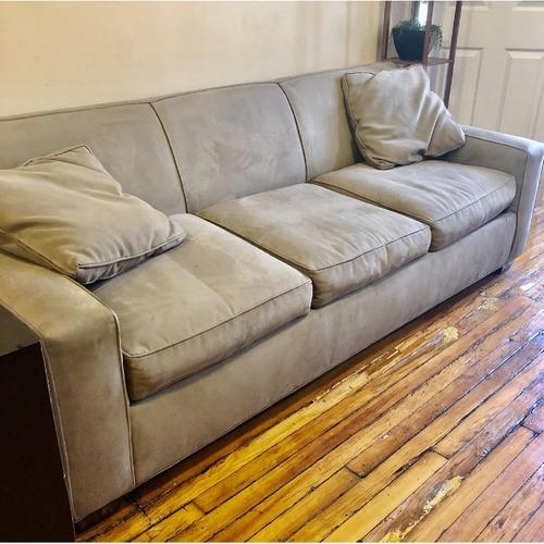 Crate & Barrel Queen Sleeper Sofa