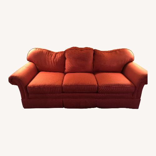 Stanford Furniture Red Upholstered Sofa
