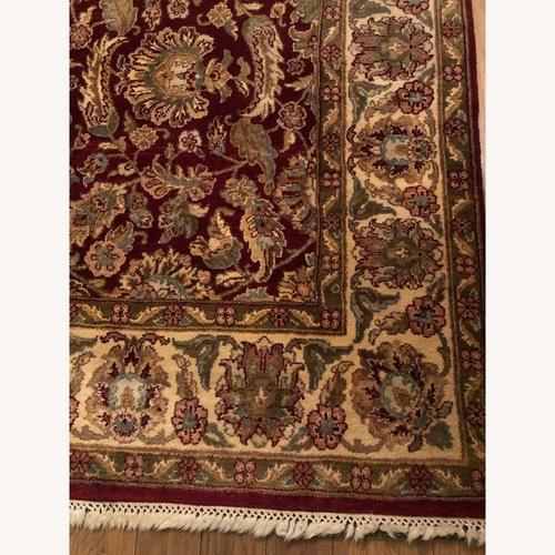 Oriental Indian Jaipur Wool Area Rug