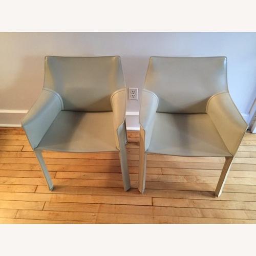 Cassina Mario Bellini Cab Chairs