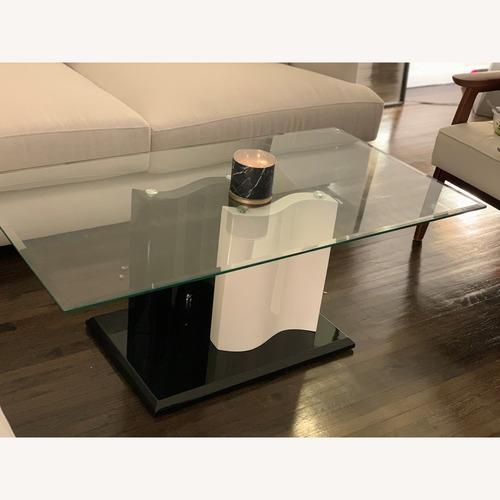Oren Ellis Kohut Modern Glass Coffee Table