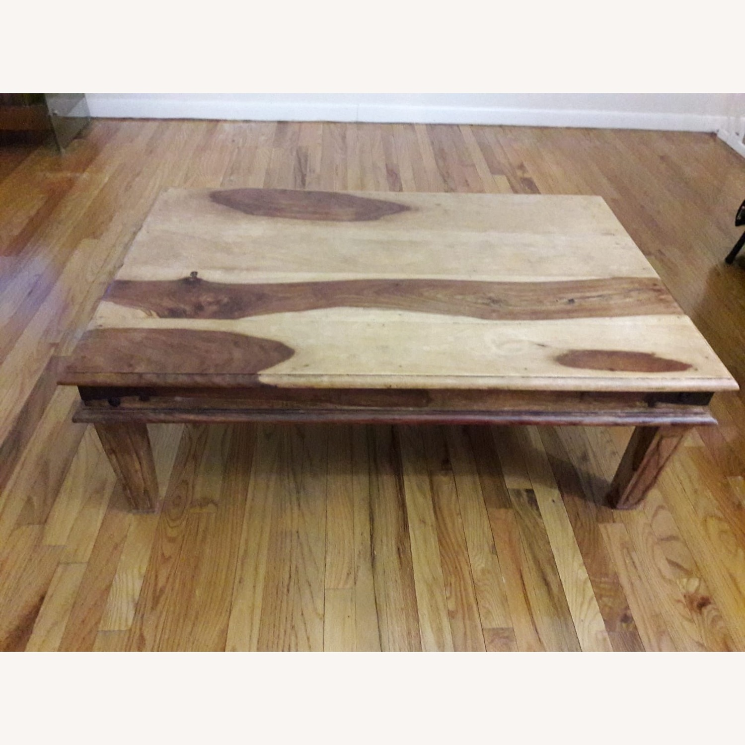 Jennifer Convertibles Solid Wood Coffee Table - image-1