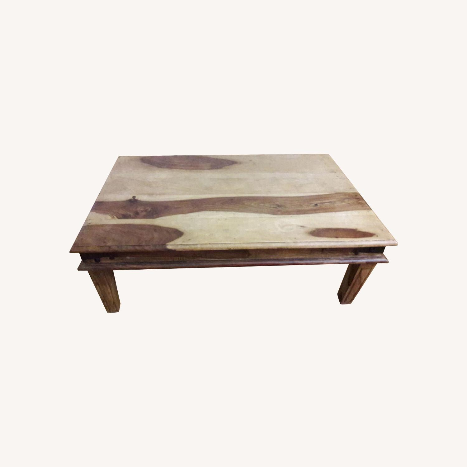 Jennifer Convertibles Solid Wood Coffee Table - image-0