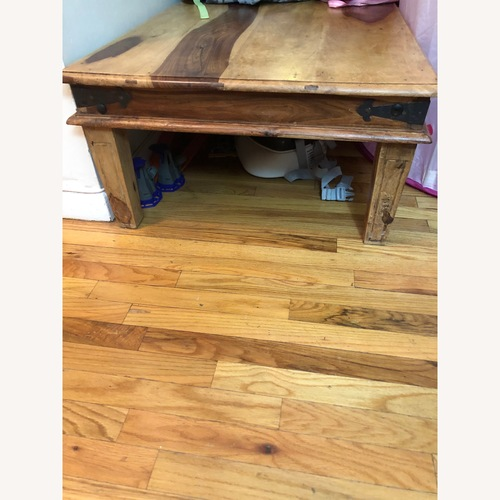 Jennifer Convertibles Solid Wood Coffee Table