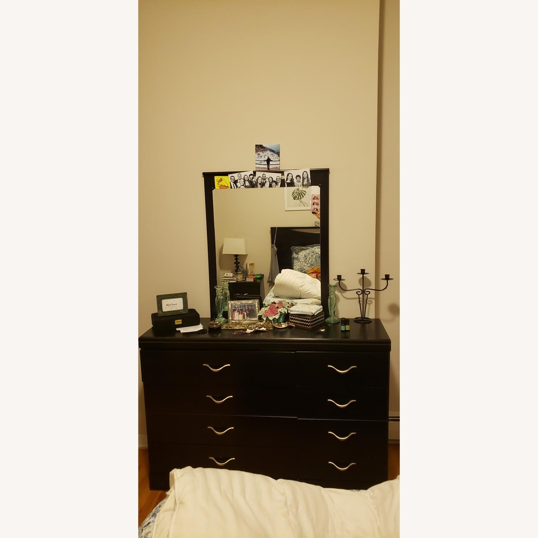 Ashley Dark Dresser w/ Mirror - image-2