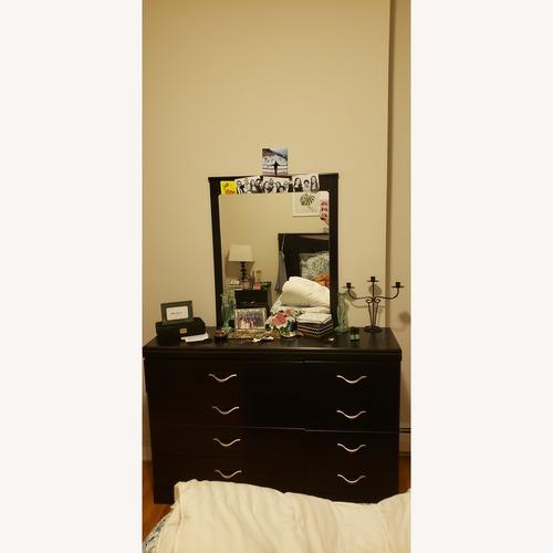 Ashley Dark Dresser w/ Mirror