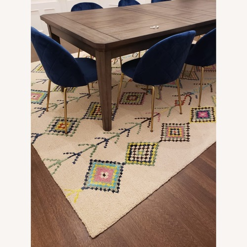 The Curated Nomad Escolta Wool Moroccan Area Rug