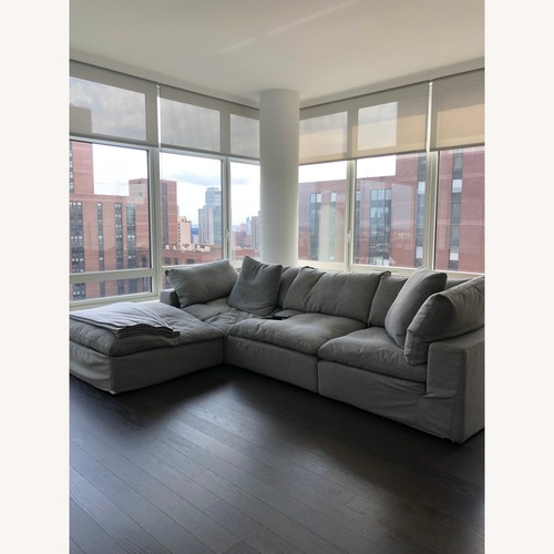 Restoration Hardware 4-Piece Sectional Sofa