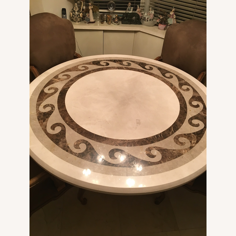 Kreiss Marble Dining Room Table