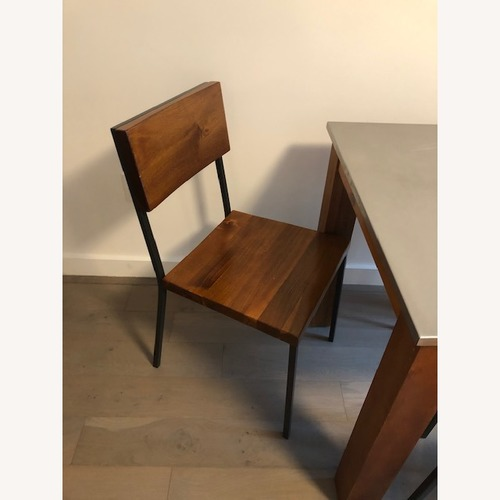 West Elm Rustic Kitchen Table w/ 3 Chairs
