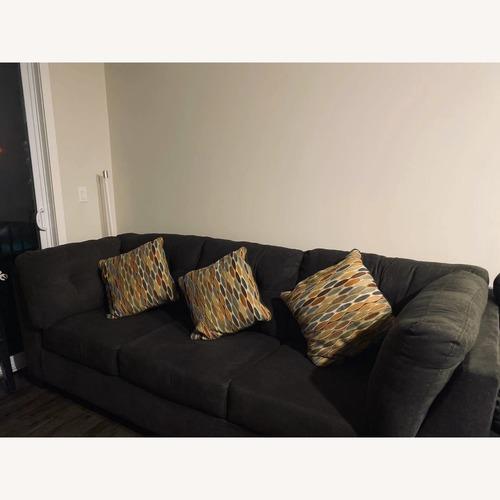 Ashley Delta City 3 Piece Sleeper Sectional Sofa