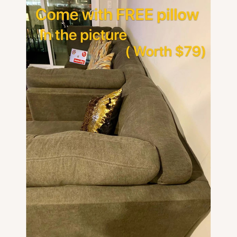 Ashley Delta City 3 Piece Sleeper Sectional Sofa - image-4