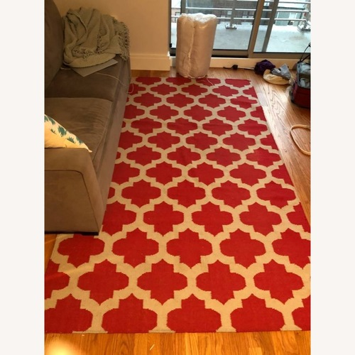 Safavieh Red & White Moroccan Style Rug