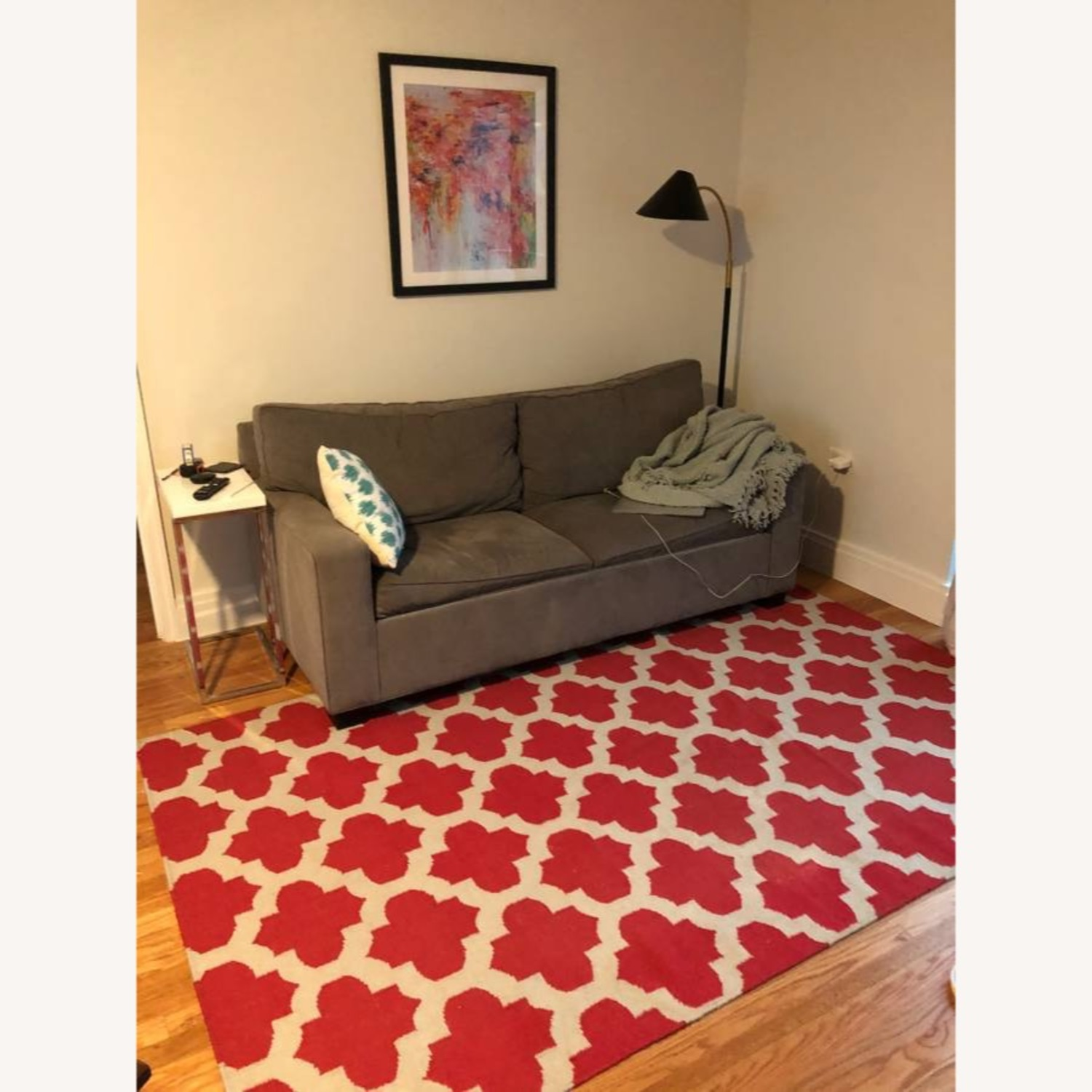 Safavieh Red & White Moroccan Style Rug - image-2