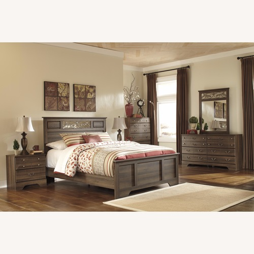Ashley Allymore Queen Panel Bed