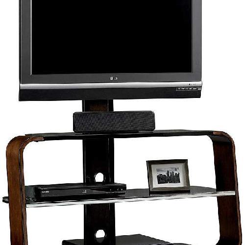 Used Sauder Studio Edge Corsair TV Stand w/ TV Mount for sale on AptDeco