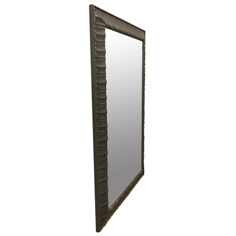 Custom Mirror w/ Textured Surface - image-1
