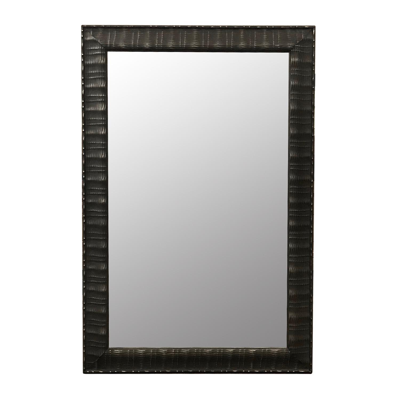 Custom Mirror w/ Textured Surface - image-0