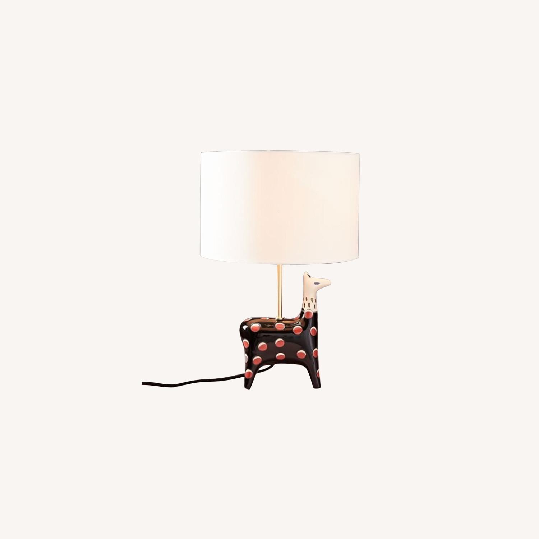 West Elm Llama Fairy Tale Table Lamp - image-0