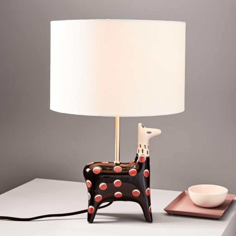 West Elm Llama Fairy Tale Table Lamp - image-1