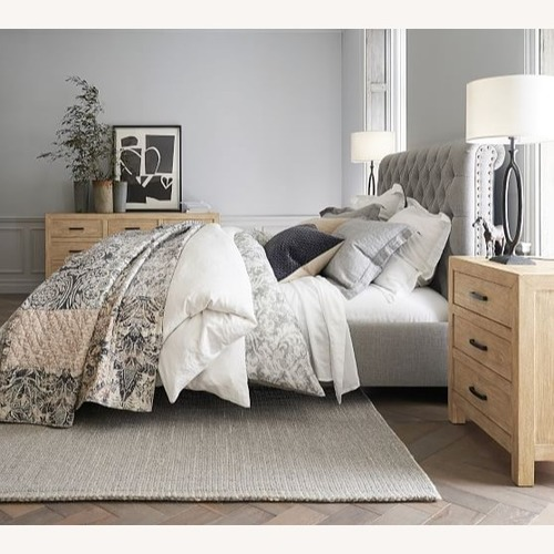 Pottery Barn Chesterfield Queen Headboard