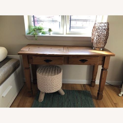 Pier 1 Rustic Wooden Desk