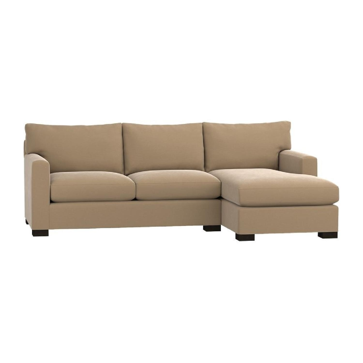Crate & Barrel Axis II 2-Piece Sectional Sofa