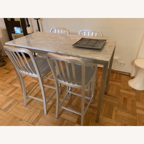 Room & Board Portica Counter Table w/ 4 Stools