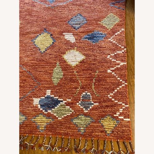 Safavieh Orange Hand Knotted Area Rug