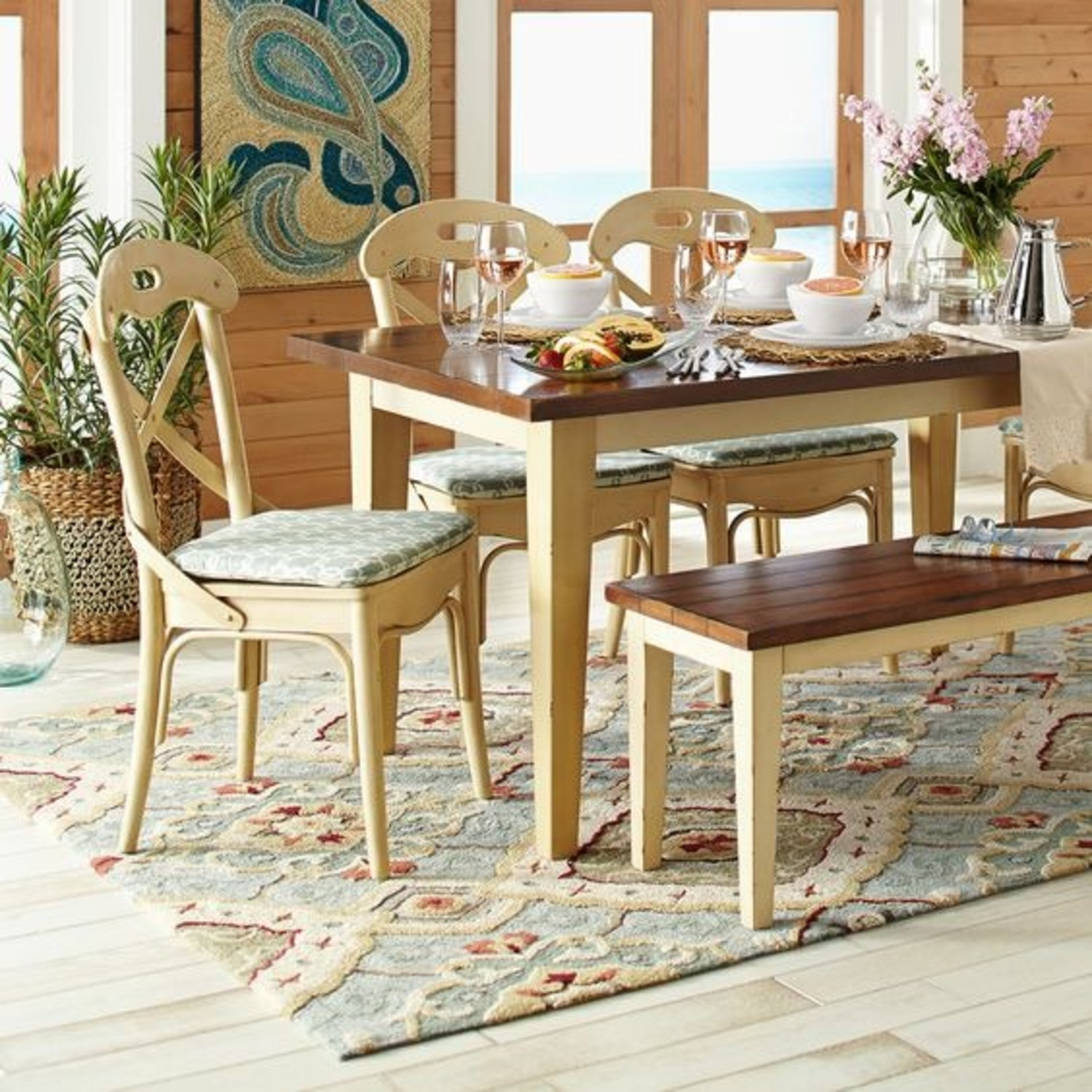 Pier 1 Rustic Dining Table