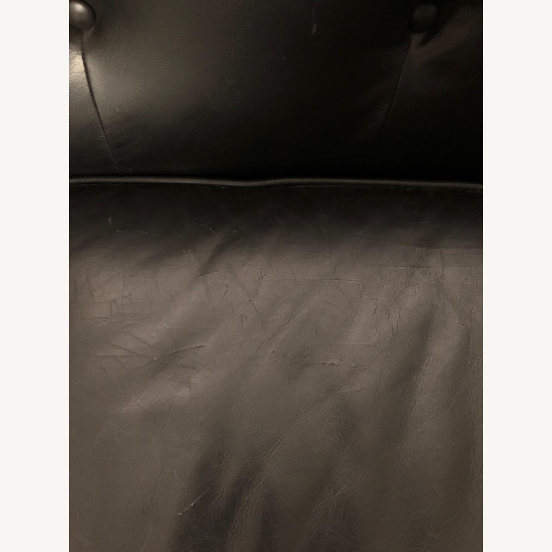 Article Black Leather Sofa