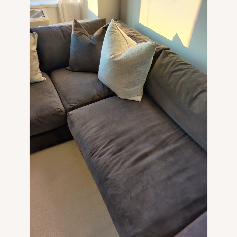 Macy's Aryanna 4-Piece Modular Sectional Sofa