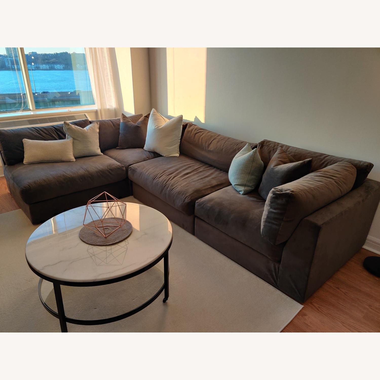 Macy's Aryanna 4-Piece Modular Sectional Sofa - image-1