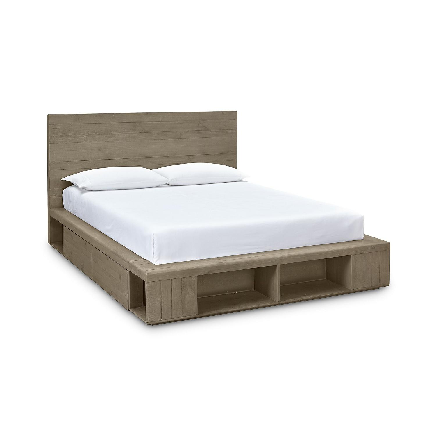 Macy's Brandon Storage King Platform Bed - image-0