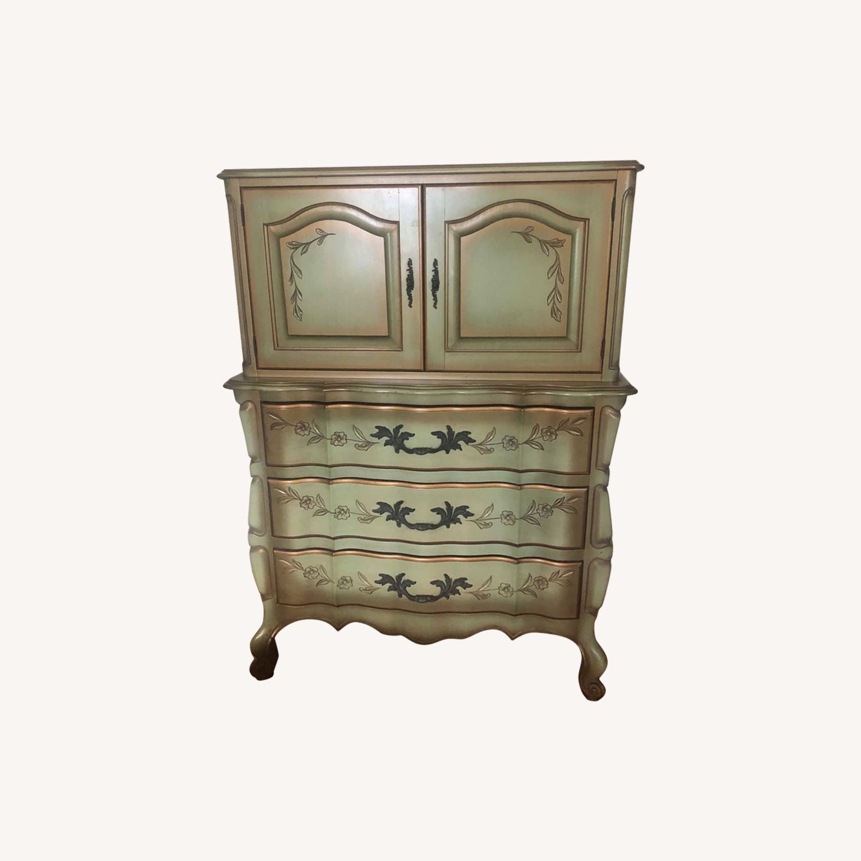 Vintage 1970s French Provincial Dresser - image-0