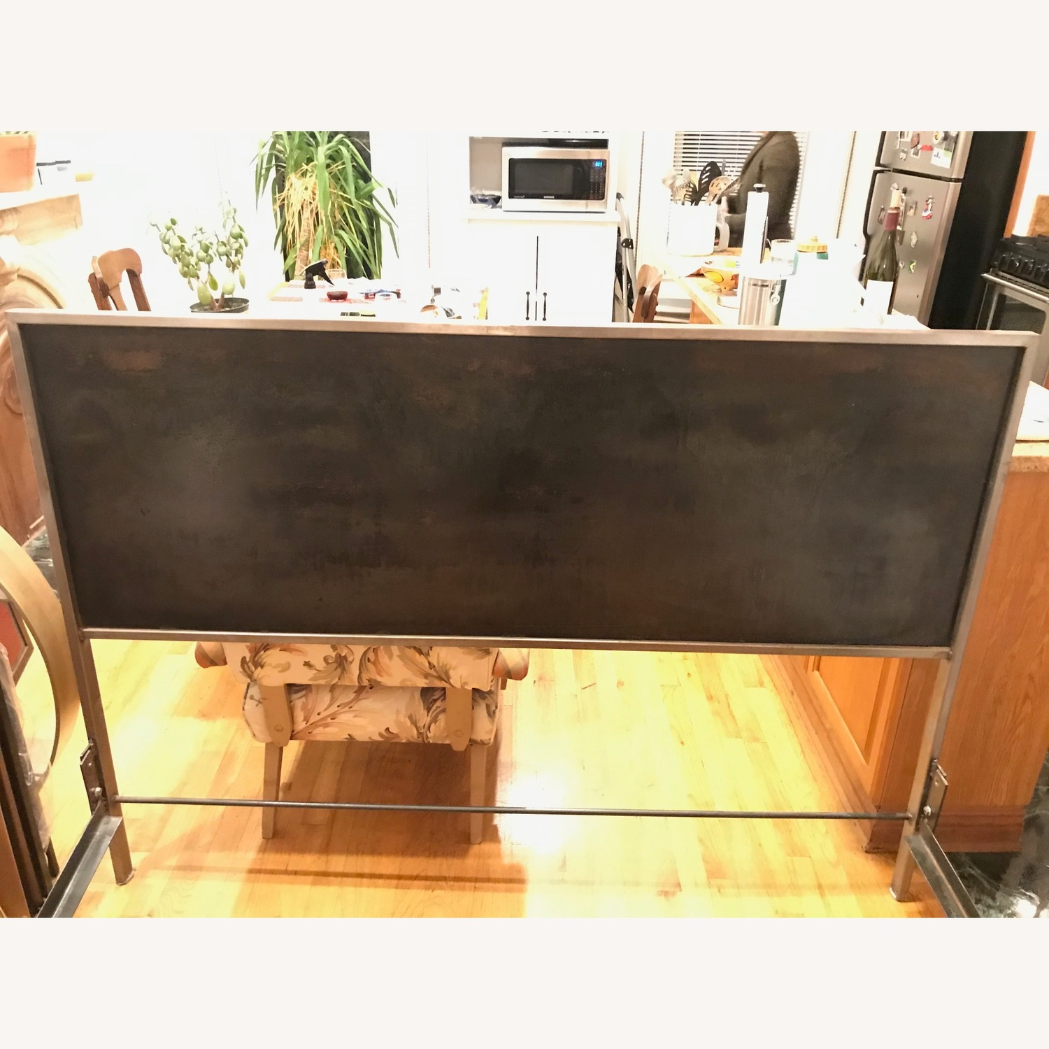 Industrial Chic Queen Bed Frame