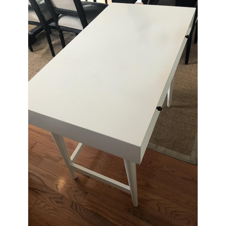 West Elm Mid-Century White Desk - image-3