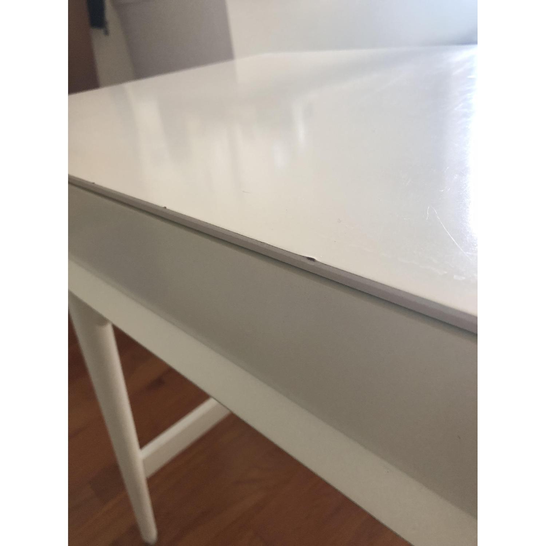 West Elm Mid-Century White Desk - image-5