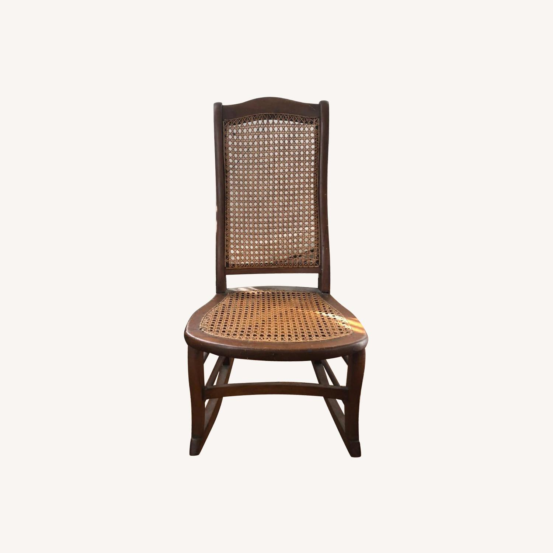 Vintage Rocking Chair - image-0