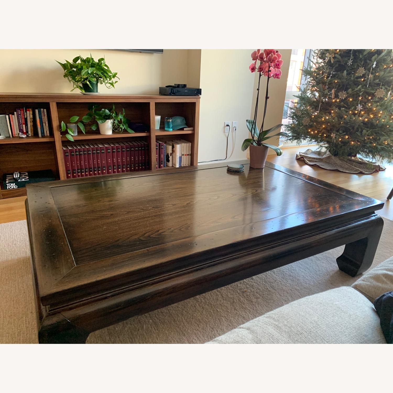Ethan Allen Dynasty Rectangular Coffee Table - image-1
