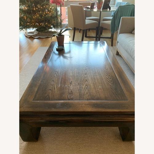 Ethan Allen Dynasty Rectangular Coffee Table