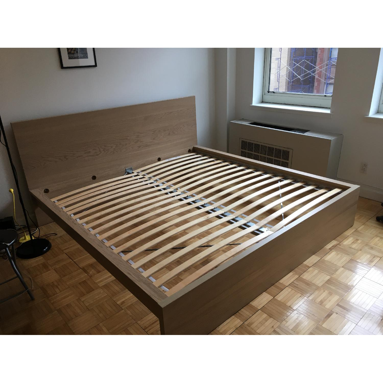 Ikea Malm Oak King Bed Frame - image-3