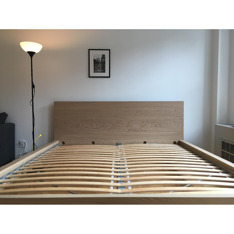 Ikea Malm Oak King Bed Frame - image-4