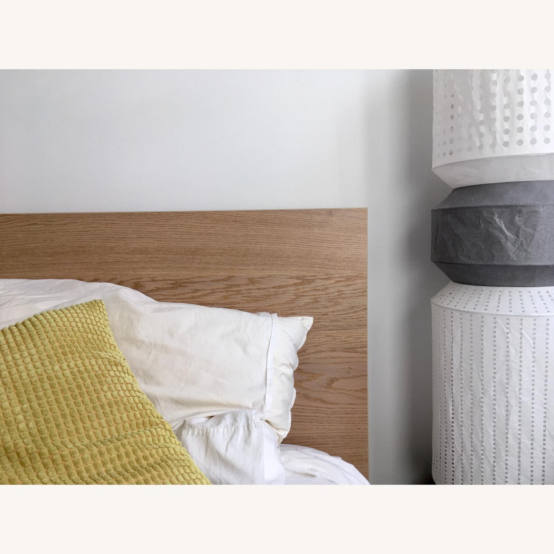 Ikea Malm Oak King Bed Frame - image-2