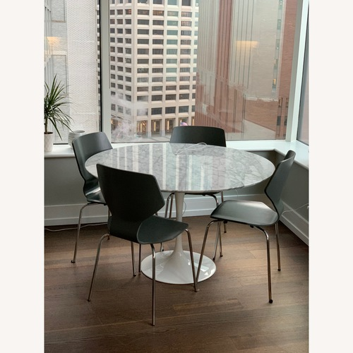Room & Board Saarinen Carrara Marble Dining Table