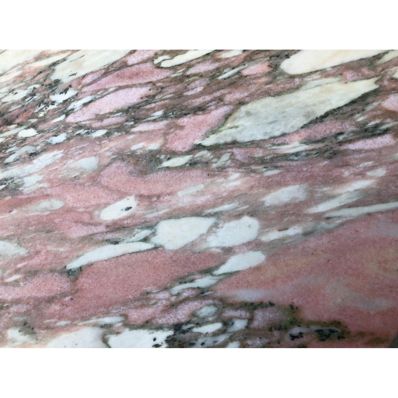 Vintage Italian Marble Top Side Table - image-16