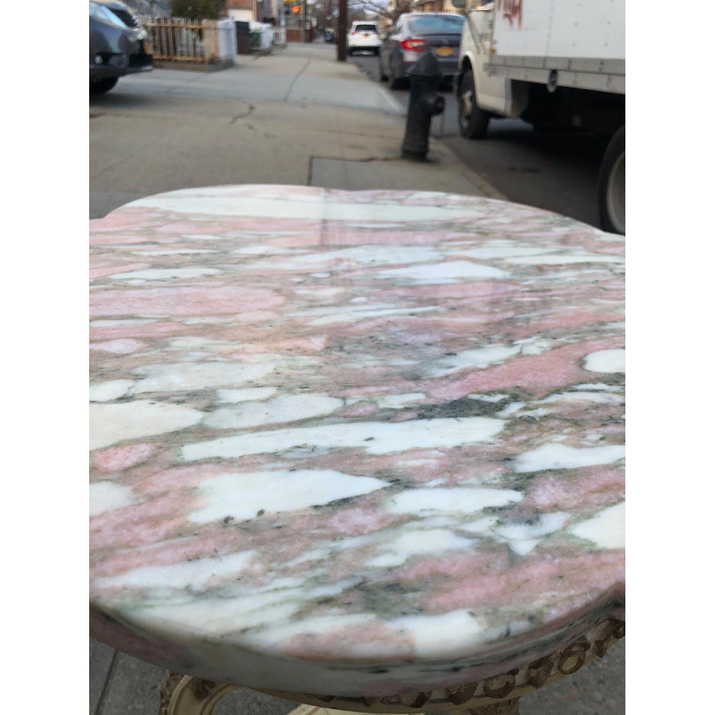 Vintage 1970s Italian Marble Side Table - image-6