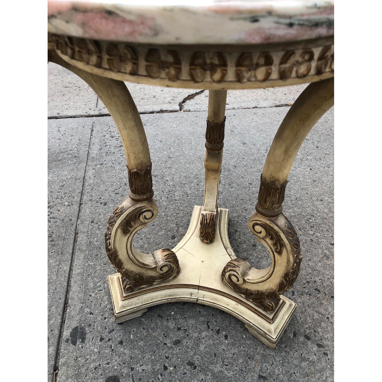 Vintage 1970s Italian Marble Side Table - image-8