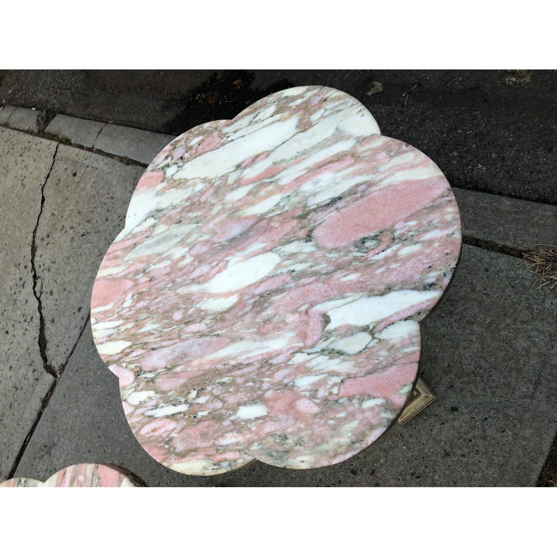 Vintage 1970s Italian Marble Side Table - image-12